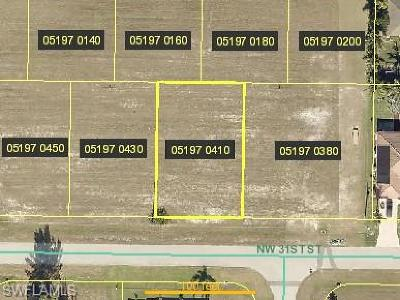 Cape Coral Residential Lots & Land For Sale: 4623 NW 31st St