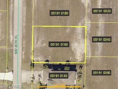 Cape Coral Residential Lots & Land For Sale: 2731 NW 45th Pl