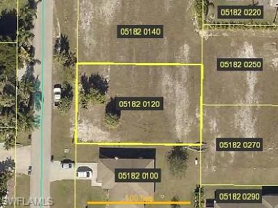 Cape Coral Residential Lots & Land For Sale: 2723 NW 42nd Pl