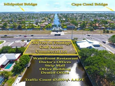 Cape Coral FL Commercial Lots & Land For Sale: $559,000