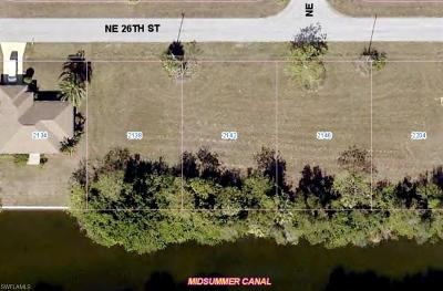 Cape Coral Residential Lots & Land For Sale: 2142 NE 26th St