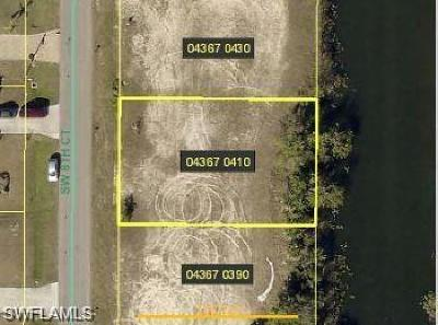 Cape Coral Residential Lots & Land For Sale: 1321 SW 8th Ct