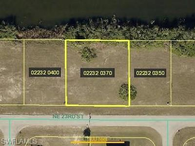 Cape Coral Residential Lots & Land For Sale: 1621 NE 23rd Ter