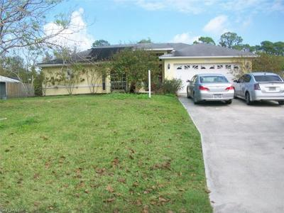 North Fort Myers Single Family Home For Sale: 11463 Rabun Gap Dr