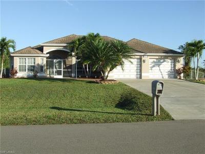 Cape Coral Single Family Home For Sale: 925 NE 37th Ter