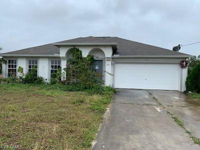 Lehigh Acres Single Family Home For Sale: 3731 6th St W