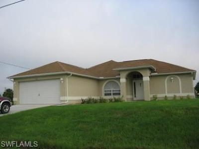 Cape Coral Single Family Home For Sale: 501 SE 7th St