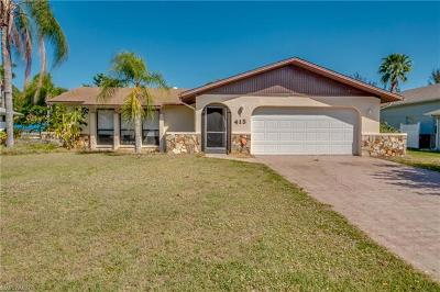 Cape Coral Single Family Home Pending With Contingencies: 415 SE 30th St