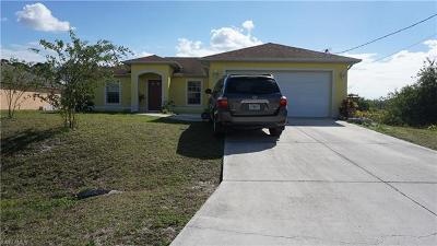 Lehigh Acres Single Family Home For Sale: 3723 1st St SW