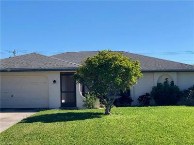 Cape Coral Single Family Home Pending With Contingencies: 1040 NE Van Loon Ln
