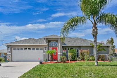 Fort Myers Single Family Home Pending With Contingencies: 714 Altair Ave