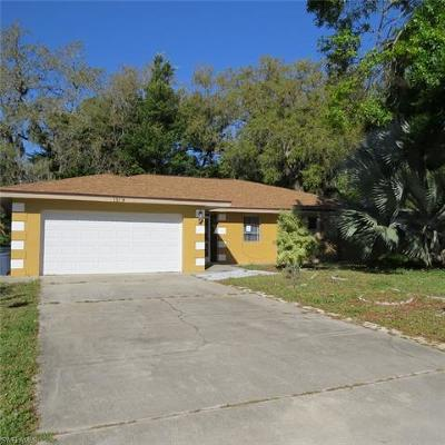 North Fort Myers Single Family Home For Sale: 1519 Flynn Rd