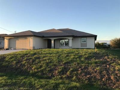 Lehigh Acres Single Family Home For Sale: 2512 46th St SW