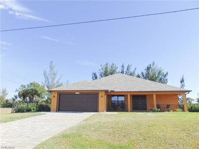 Cape Coral Single Family Home For Sale: 2023 NW 32nd Ct