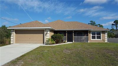 Lehigh Acres Single Family Home For Sale: 3004 12th St W #3004