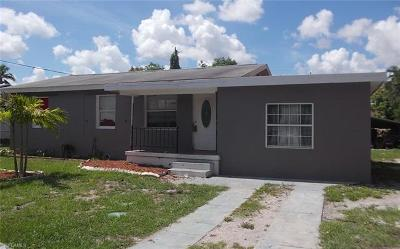 Fort Myers Single Family Home For Sale: 3378 Apache St