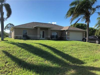 Lehigh Acres Single Family Home For Sale: 1007 Adeline Ave