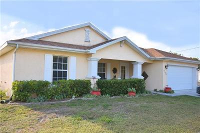 Cape Coral Single Family Home For Sale: 2628 NW 22nd Pl