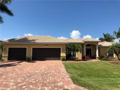 Lee County Single Family Home For Sale: 5412 SW 22nd Pl