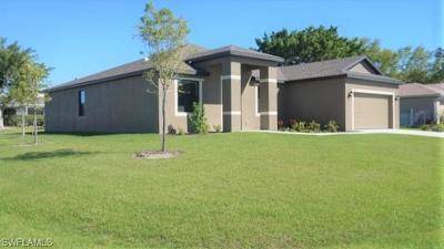 Cape Coral Single Family Home For Sale: 3817 SW 14th Ave