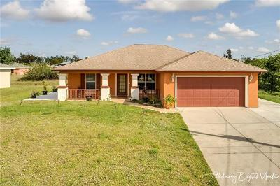 Lehigh Acres Single Family Home For Sale: 5028 Benton St