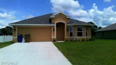 Lehigh Acres Single Family Home For Sale: 3110 5th St W