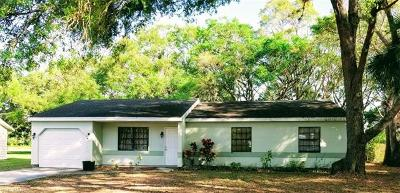 Labelle FL Single Family Home For Sale: $154,900
