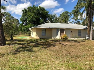 Lehigh Acres Single Family Home For Sale: 909 Canton Ave