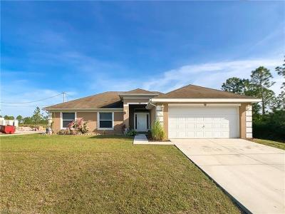 Lehigh Acres Single Family Home For Sale: 1706 W 10th St