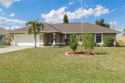 Cape Coral Single Family Home For Sale: 617 SE 27th St