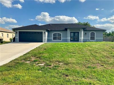 Lehigh Acres Single Family Home For Sale: 5123 Baron St