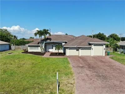 Cape Coral Single Family Home For Sale: 3411 SW 11th Pl