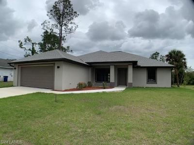 Lehigh Acres Single Family Home For Sale: 2809 9th St W