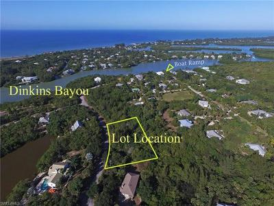 Sanibel Residential Lots & Land For Sale: 6095 Dinkins Lake Rd