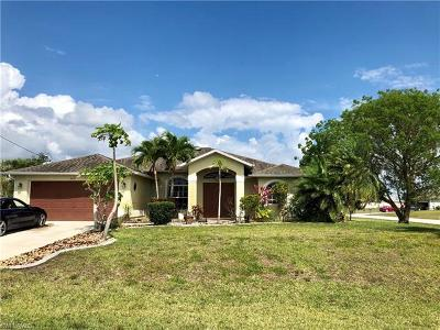 Cape Coral Single Family Home For Sale: 2419 NW 20th Ave