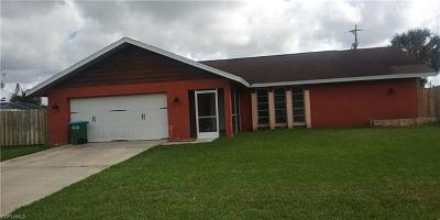 Cape Coral Single Family Home For Sale: 1706 NE 2nd St