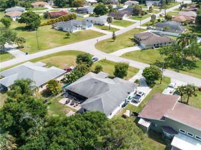North Fort Myers Single Family Home For Sale: 11351 Chattahoochee Dr