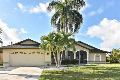 Cape Coral Single Family Home For Sale: 2118 SW 49th St