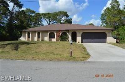 Lehigh Acres Single Family Home For Sale: 4306 4th St W