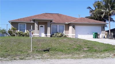 Cape Coral Single Family Home For Sale: 542 NE 7th Ter