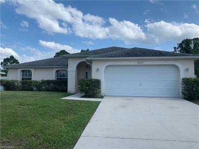 Lehigh Acres Single Family Home Pending With Contingencies: 2617 20th St W