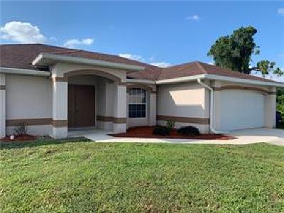 Lehigh Acres Single Family Home Pending With Contingencies: 1839 Jovita Ave