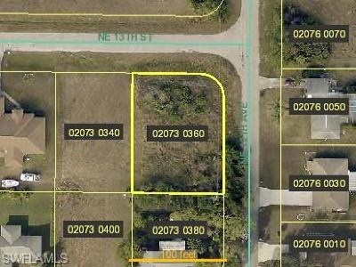 Cape Coral Residential Lots & Land For Sale: 1126 NE 13th St