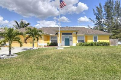 Cape Coral Single Family Home For Sale: 107 SW 35th Ave