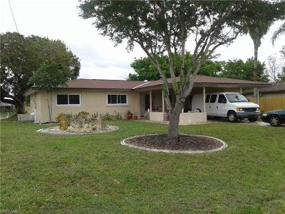 Cape Coral Single Family Home For Sale: 1519 SE 17th St