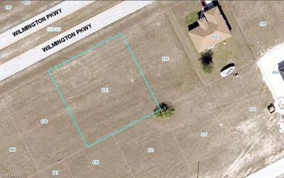 Lee County Residential Lots & Land For Sale: 632 Wilmington Pky