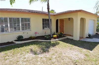 Fort Myers Beach Single Family Home For Sale: 184 Hibiscus Dr