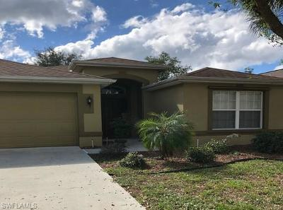 Fort Myers Single Family Home For Sale: 8849 Fawn Ridge Dr