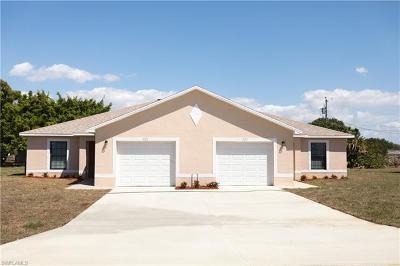 Cape Coral Multi Family Home For Sale: 114 SE 12th Ter