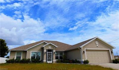 Cape Coral Single Family Home For Sale: 2825 NW 19th Ave